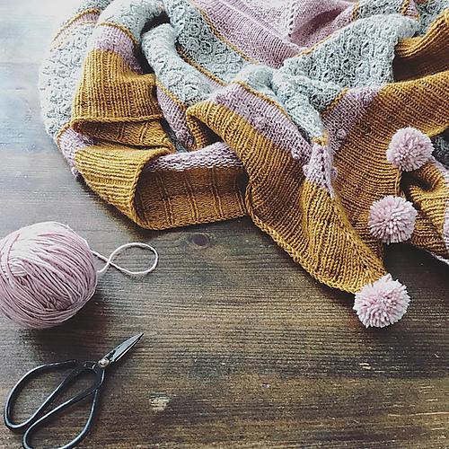 A girl's best friend shawl